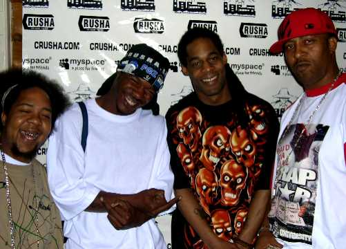 Budha, BKO, King Fuvi and Jay1 at a CRUSHA Show!